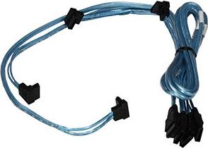 SuperMicro Zestaw 4 kabli SATA 70/59/48/38 CBL-0180L-01 1