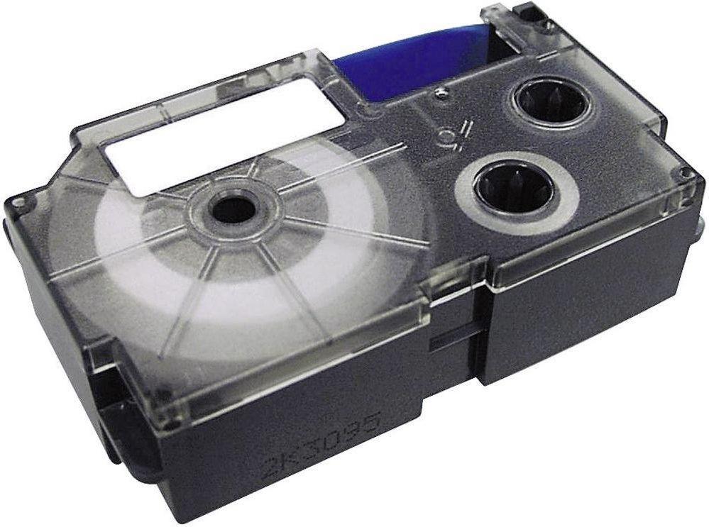 Casio taśma XR-9 WE 9mm / XR-9WE1 (black on white) 1