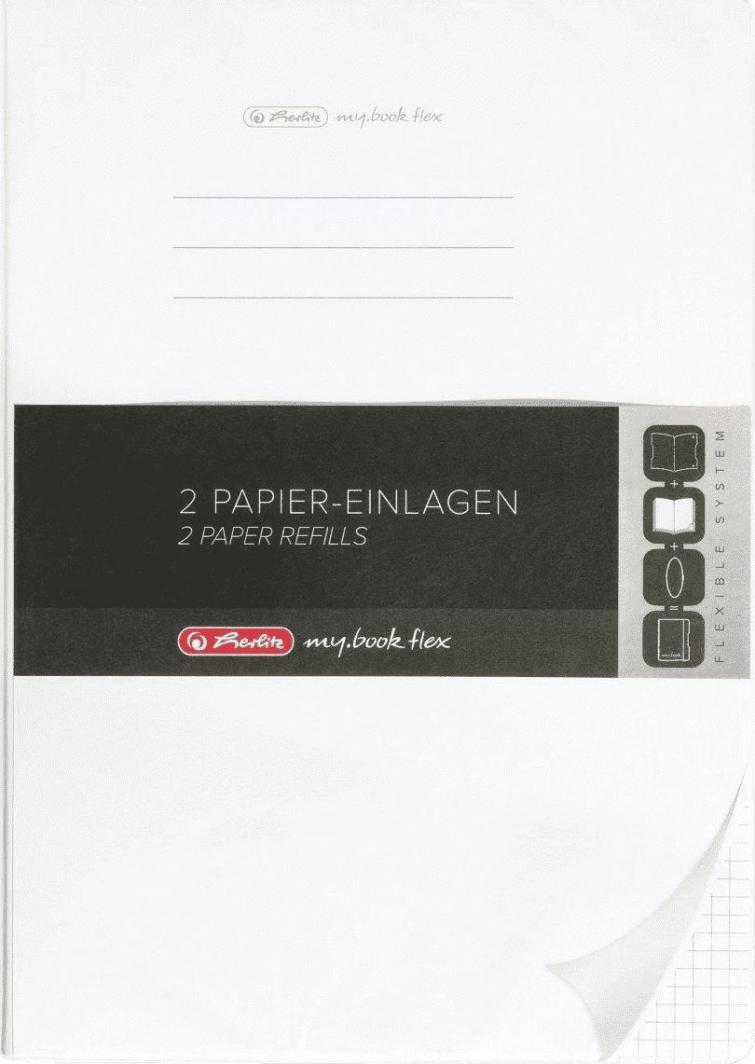 Herlitz NOTES A4/2X40K KRAT (0011361854) 1