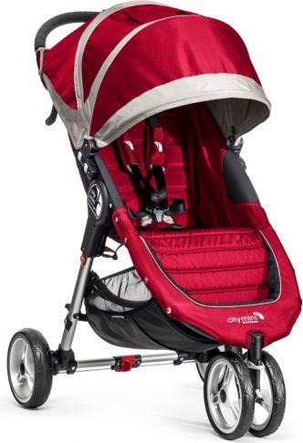 Wózek BABY JOGGER spacerowy City Mini Single Crimson/gray 1