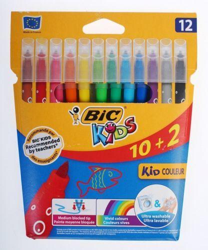 Bic Flamasty Kid Couleur 12 kolorów 1
