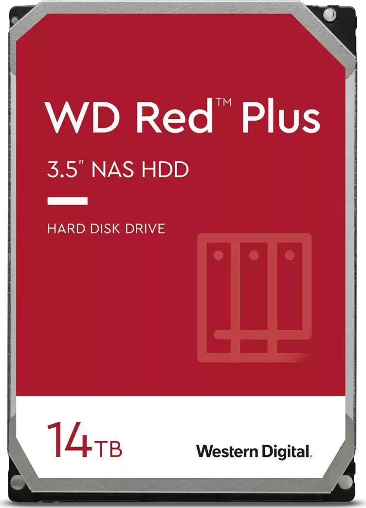 Dysk serwerowy WD WD Red Plus 14 TB 3.5'' SATA III (6 Gb/s)  (WD140EFGX) 1