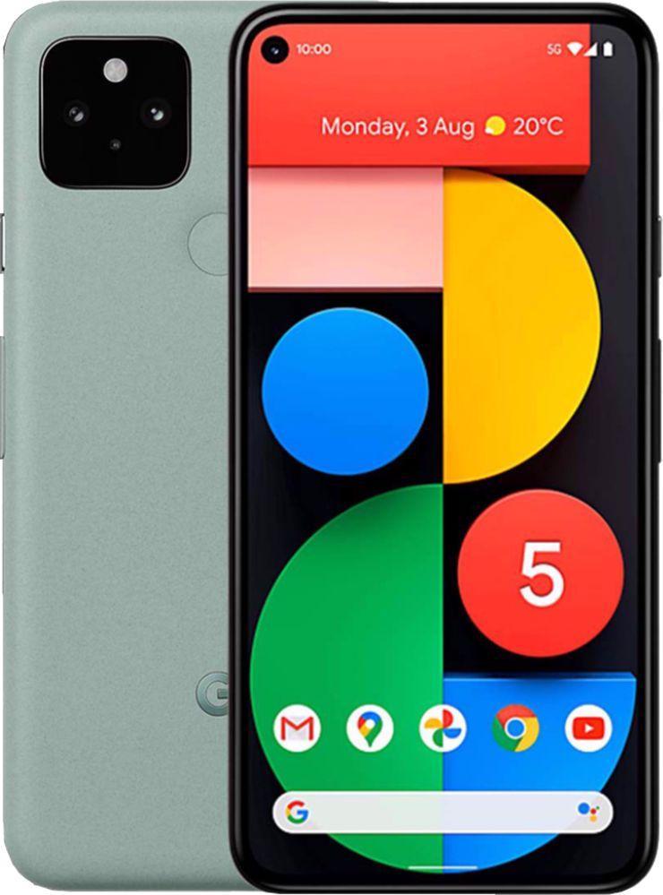 Smartfon Pixel 5 5G 128 GB Dual SIM Zielony  1