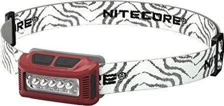 Nitecore HEADLAMP NU SERIES 160 LUMENS/NU10 RED NITECORE 1