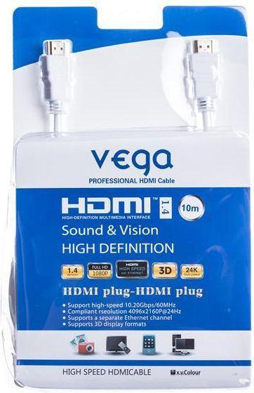 Kabel Remax HDMI - HDMI 10m biały (AA-1071) 1