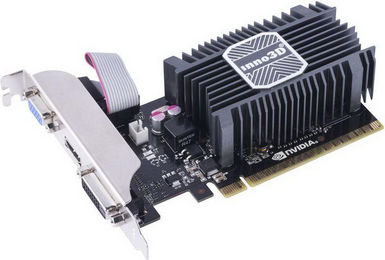 Karta graficzna Inno3D GeForce GT 730 1GB DDR3 (N730-1SDV-D3BX) 1