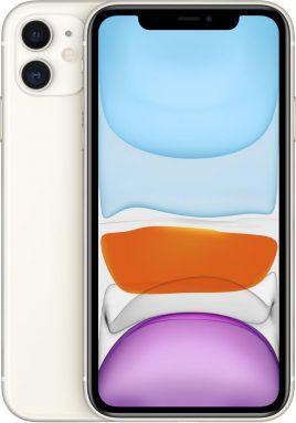 Smartfon Apple iPhone 11 4/64GB Dual SIM Biały  (MHDC3ZD/A) 1