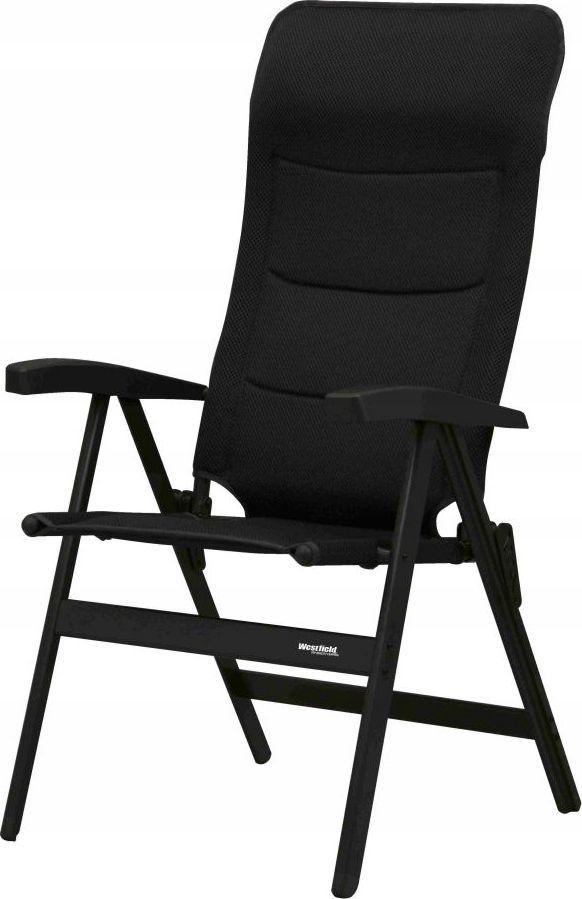 Westfield Krzesło kempingowe Noblesse Deluxe czarne 1