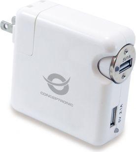Ładowarka Conceptronic USB Travel Charger kit (CUSBCHARKIT) 1