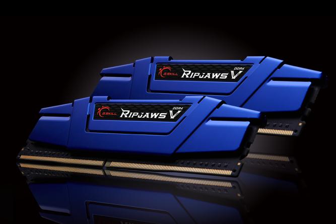 Pamięć G.Skill Ripjaws V, DDR4, 16 GB, 2400MHz, CL15 (F4-2400C15D-16GVB) 1