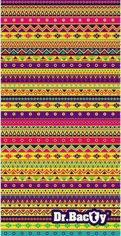 DRBACTY Ręcznik szybkoschnący Mozaika XL  1