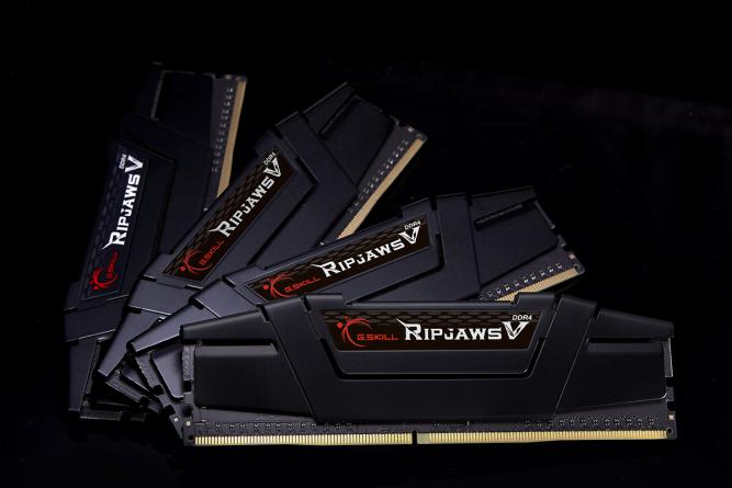 Pamięć G.Skill Ripjaws V, DDR4, 64 GB, 3200MHz, CL16 (F4-3200C16Q-64GVK) 1