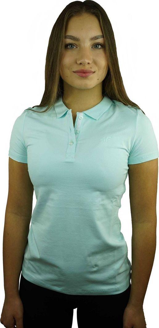 4f Koszulka damska polo bawełna 4F NOSH4 TSD008-47S M 1
