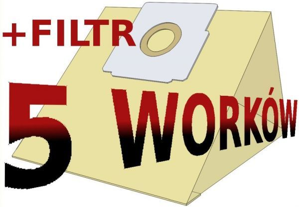 Worek do odkurzacza Zelmer papierowy 3000 B FIL. 1