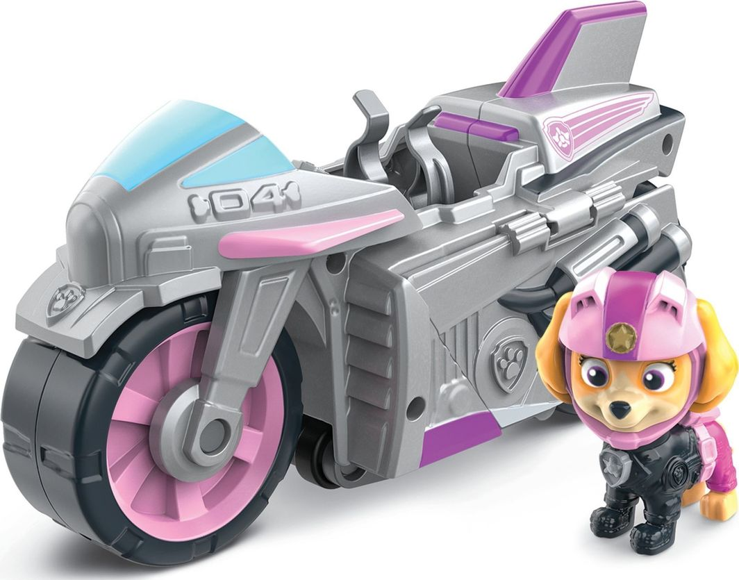 Spin Master Psi Patrol Moto Pups Skye figurka i motocykl deluxe  1