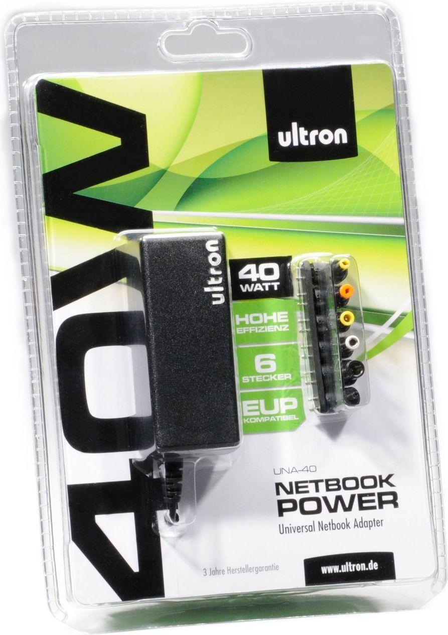 Zasilacz do laptopa Realpower UNA-40 (UNA-40 REP) 1
