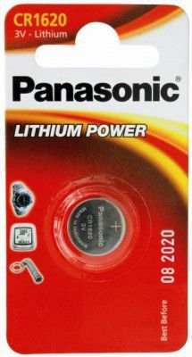 Panasonic Bateria Lithium Power CR1620 1szt. 1