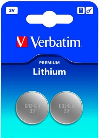 Verbatim Bateria Premium CR2430 2szt. 1
