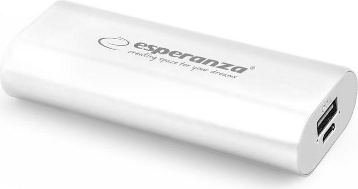 Powerbank Esperanza 4400mAh (EMP105W) 1