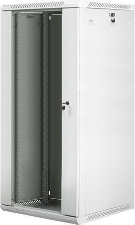 "Szafa Lanberg wisząca 19"", 27U, 600x600, szara, (FLAT PACK) (WF01-6627-10S) 1"
