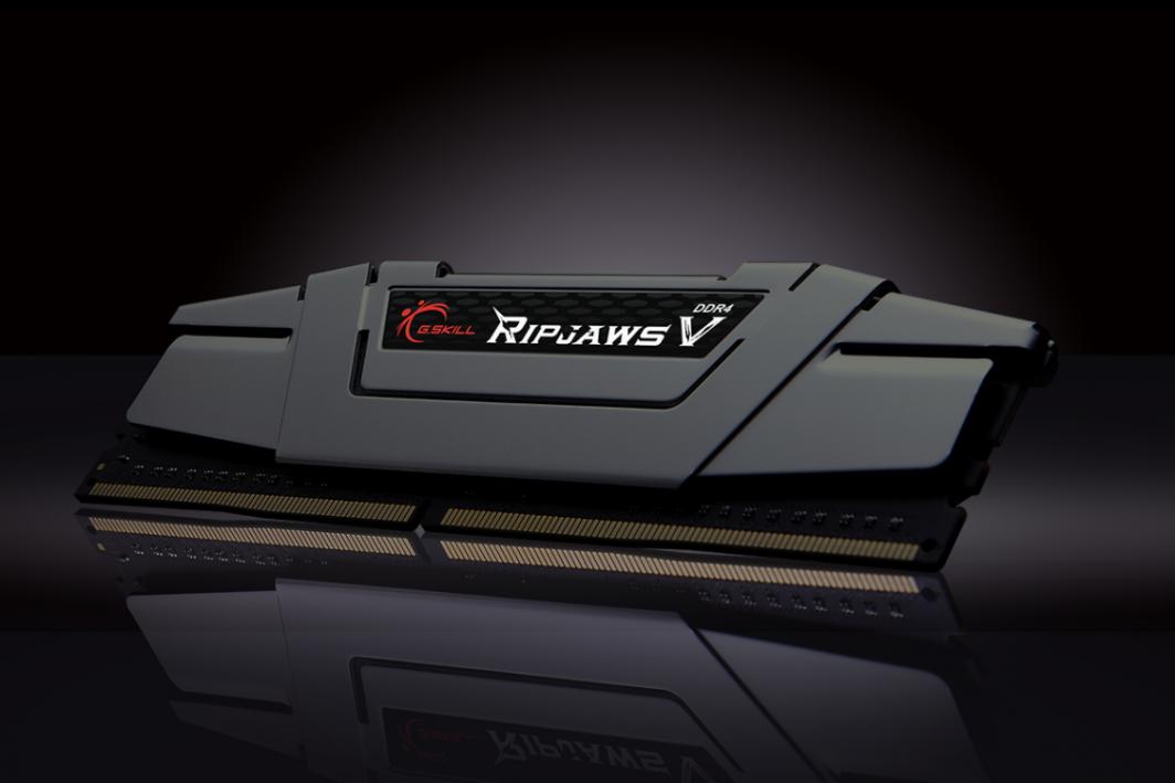 Pamięć G.Skill Ripjaws V, DDR4, 16 GB, 3000MHz, CL15 (F4-3000C15D-16GVGB) 1