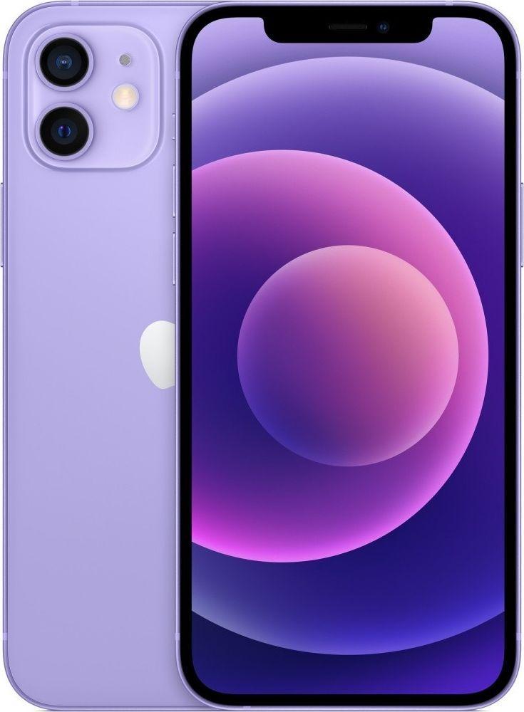 Smartfon Apple iPhone 12 128 GB Dual SIM Fioletowy  (MJNP3PM/A) 1