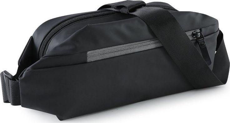 Hurtel Pas do biegania torba na ramię saszetka nerka etui na telefon klucze dokumenty portfel czarny 1