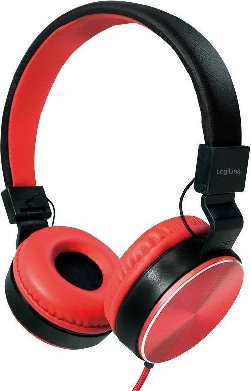 Słuchawki LogiLink HS0049RD 1