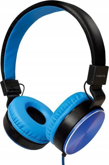 Słuchawki LogiLink HS0049BL 1
