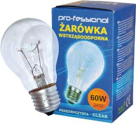 Pro-fessional Żarówka wstrząsoodporna A55 E27 60W 1