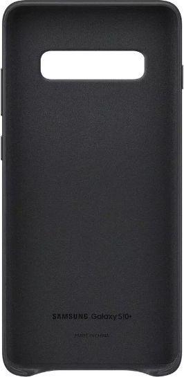 Samsung FUTERAŁ ORYGINALNY SAMSUNG LEATHER COVER DO G975 GALAXY S10 PLUS CZARNY 1