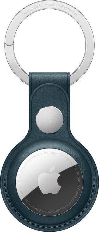 Apple Brelok do AirTag Leather Key Ring Baltic Blue (MHJ23ZM/A) 1