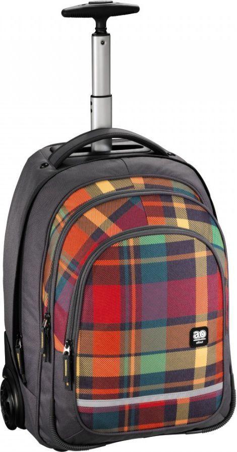 All Out Plecak szkolny na kółkach Bolton woody orange 1