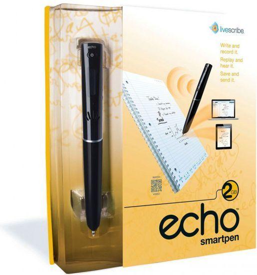 Livescribe Echo Smartpen 2GB Black Brand New