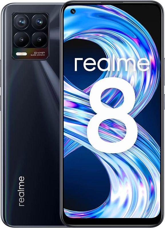 Smartfon realme 8 64 GB Dual SIM Czarny  (RMX3085128PB) 1