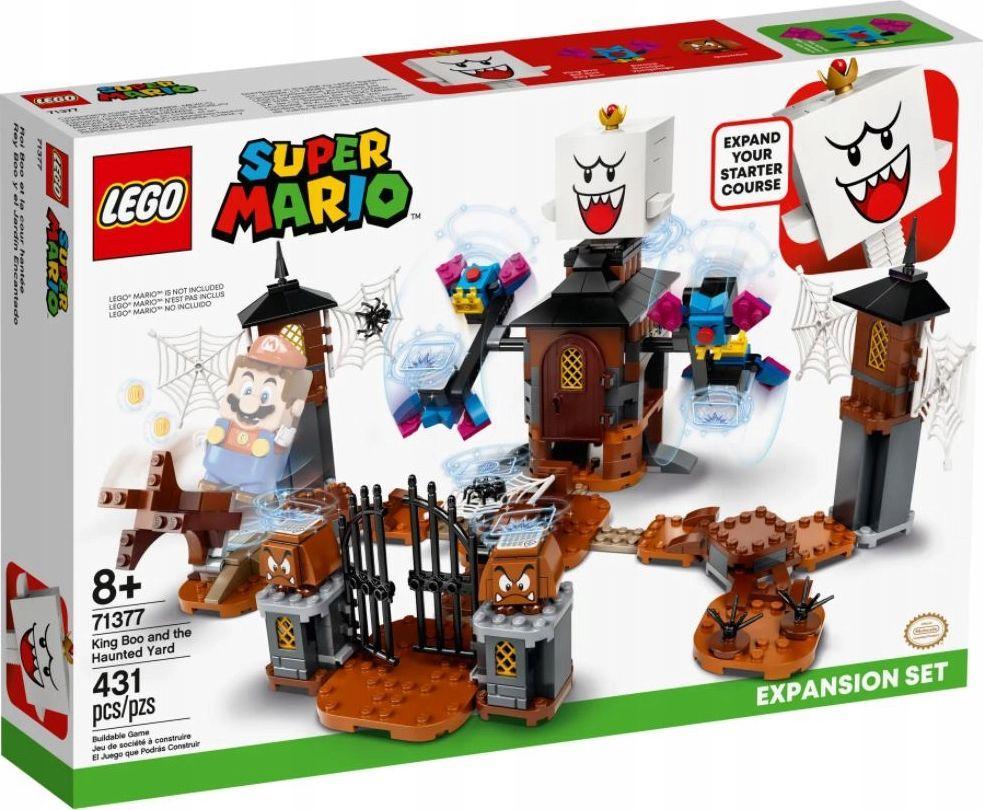 LEGO Super Mario King Boo i nawiedzone podwórze - zestaw rozszerzający (71377) 1