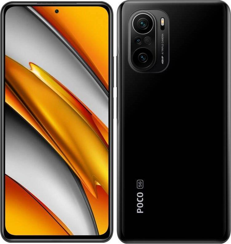 Smartfon Xiaomi POCO F3 5G 6/128GB Dual SIM Czarny  (XIA-SM-000473) 1
