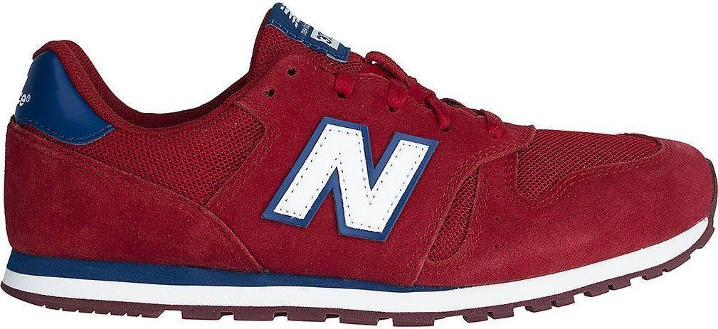 New Balance Sneakersy New Balance YC373SRW czerwień 38.5 1