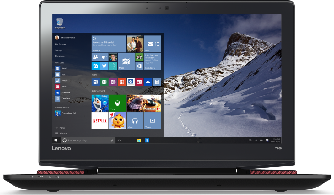 Laptop Lenovo Y700-15 (80NV00CAPB) 1