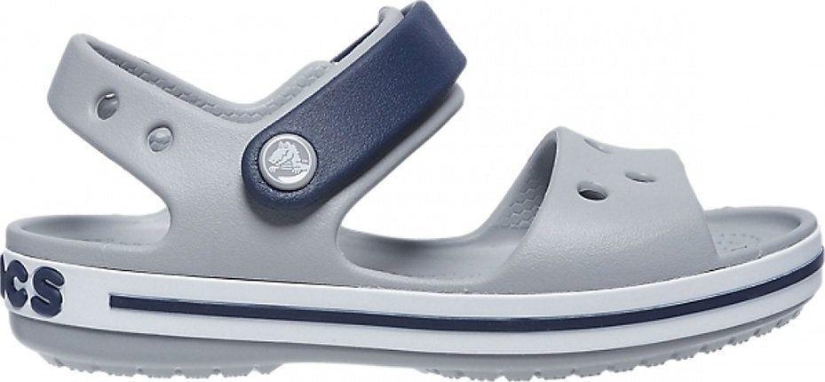 Crocs Crocs sandały dla dzieci Crosband Sandal Kids szaro-granatowe 12856 01U 34-35 1