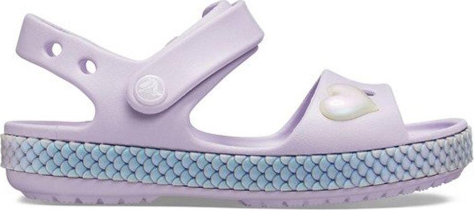 Crocs Sandały dla dzieci Crocband Imagination PS fioletowe r. 32-33 1