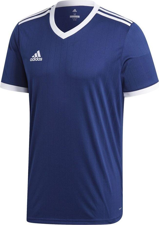 Adidas Koszulka dla dzieci adidas Tabela 18 Jersey JUNIOR granatowa CE8937/CE8917 : Rozmiar - 164cm 1