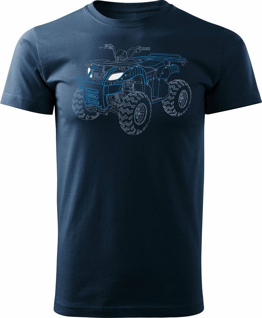 Topslang Koszulka z Quadem na Quada Quad ATV Off Road Cross na kłada męska granatowa REGULAR XL 1