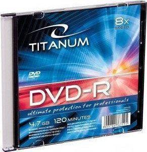 Titanum DVD-R 4.7 GB 8x 1 sztuka (E5905784763125) 1