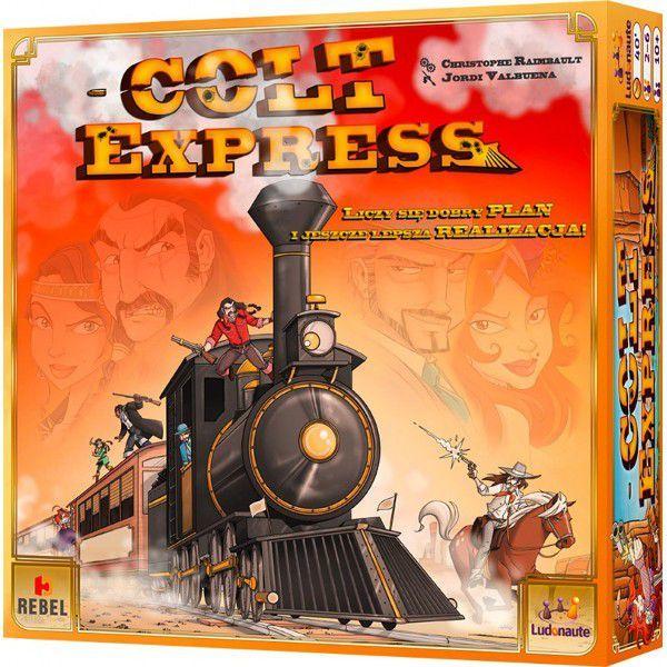 Rebel Gra planszowa Colt Express Edycja polska 1