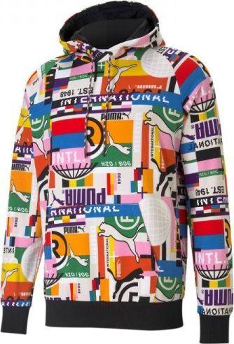 Puma Bluza Puma International Printed M 530737 02, Rozmiar: M 1