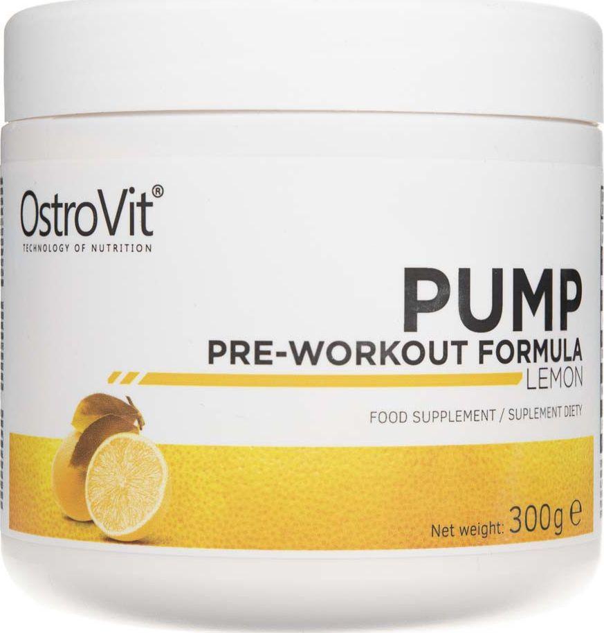 OstroVit OstroVit PUMP Pre-Workout Formula cytrynowy - 300 g 1