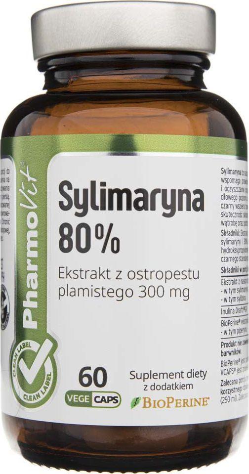 Pharmovit Pharmovit Sylimaryna 80% - 60 kapsułek 1