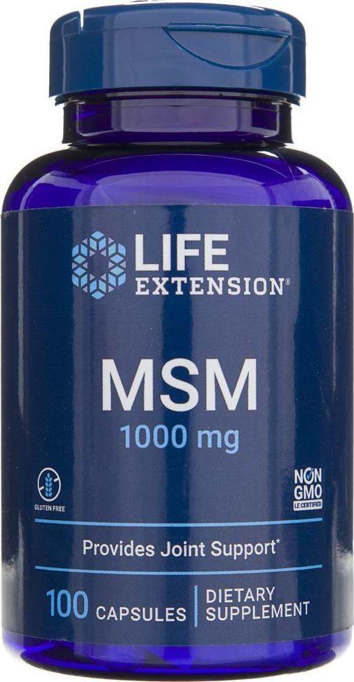 Life Extension Life Extension MSM (metylosulfonylometan) 1000 mg - 100 kapsułek 1