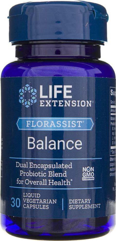 Life Extension Life Extension Florassist Balance Probiotyk - 30 kapsułek 1